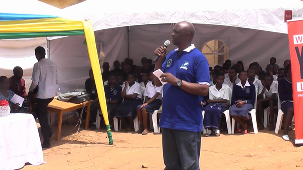Speech by RDO's Executive Secretary during WAD campaign in Gasabo District